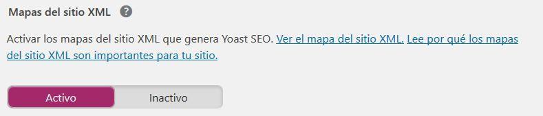 Sitemaps en Yoast SEO
